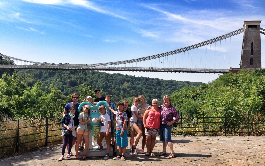 image of uk tours group in bristol
