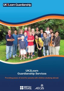 UK2Learn Guardianship Brochure