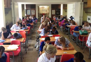the link literacy project south africa charity work
