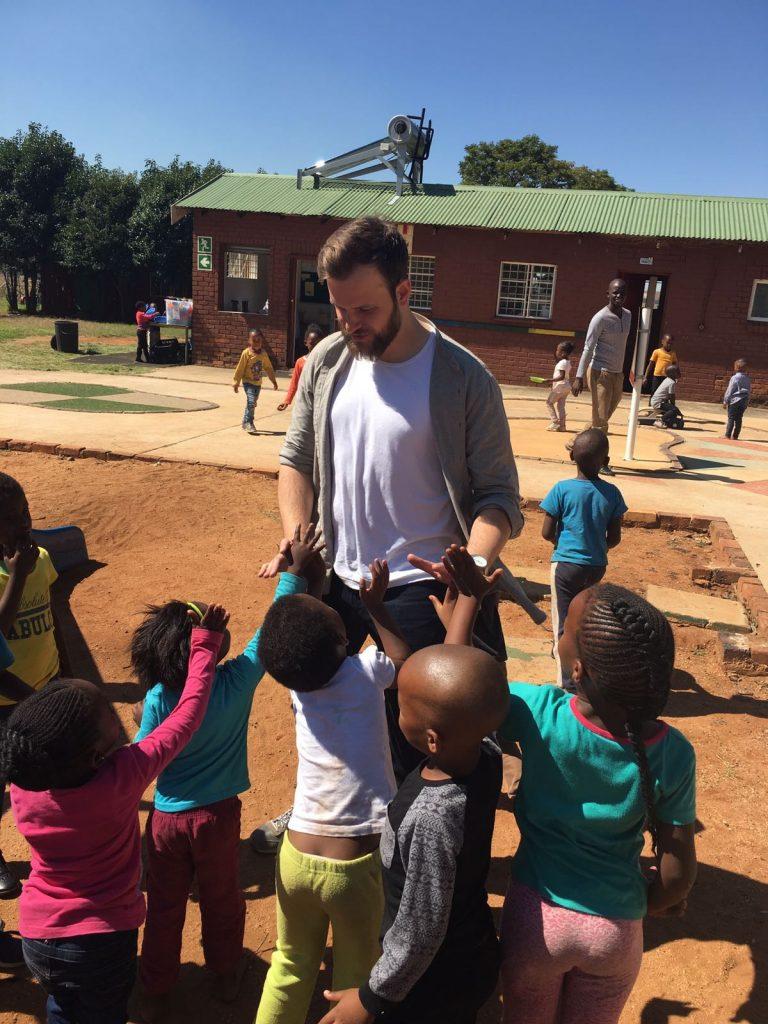 uk2learn charity work kwasa school visit alex