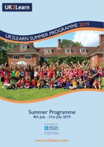 UK2Learn Summer Brochure