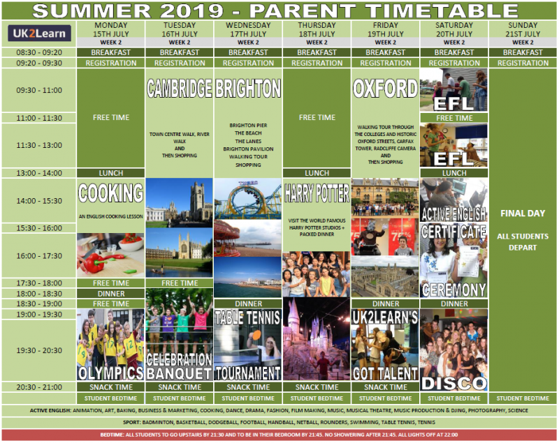 Learn English Parent Programme